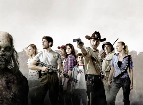 The cast of the Walking Dead - Season 1
