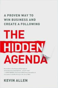Book cover - The Hidden Agenda by Kevin Allen